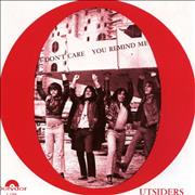Click here for more info about 'The Outsiders (Dutch) - I Don't Care / You Remind Me'