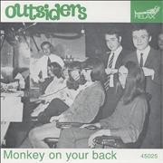 Click here for more info about 'The Outsiders (Dutch) - Monkey On Your Back'