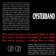 The Oyster Band Cry Cry UK CD single