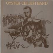 The Oyster Band Jack's Alive + Insert UK vinyl LP
