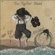 The Oyster Band Lie Back And Think Of England - EX UK vinyl LP