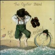The Oyster Band Lie Back And Think Of England UK vinyl LP