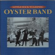 The Oyster Band Little Rock To Leipzig UK vinyl LP