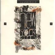 """The Oyster Band New York Girls UK 7"""" vinyl"""