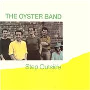 The Oyster Band Step Outside UK vinyl LP