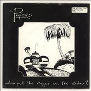 Click here for more info about 'The Papers - Who Put The Reggae On The Radio ?'