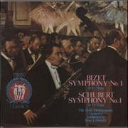 Click here for more info about 'The Paris Philharmonic Orchestra - Bizet: Symphony No. 1 / Schubert: Symphony No. 1'