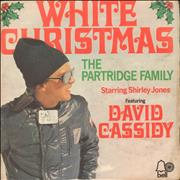 Click here for more info about 'The Partridge Family - White Christmas + Sleeve - EX'