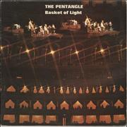 Click here for more info about 'The Pentangle - Basket Of Light - 1st - VG'