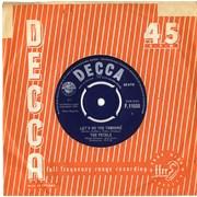 """The Petals Let's Do The Tamouré UK 7"""" vinyl Promo"""
