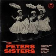 """The Peters Sisters The Peters Sisters UK 7"""" vinyl"""