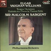 Click here for more info about 'The Philharmonia Orchestra - Elgar: The Enigma Variations / Vaughan Williams: Fantasia On a Theme By Thomas Tallis'