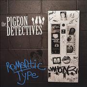 Click here for more info about 'The Pigeon Detectives - Romantic Type - Blue Vinyl'