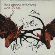 Click here for more info about 'The Pigeon Detectives - Wait For Me - Autographed'