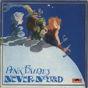 Click here for more info about 'The Pink Fairies - Never Never Land - VG'
