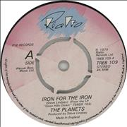 Click here for more info about 'The Planets - Iron For The Iron'