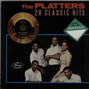 Click here for more info about 'The Platters - 20 Classic Hits - Stickered sleeve'