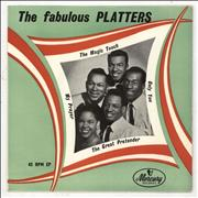 Click here for more info about 'The Platters - The Fabulous Platters - 2nd - 4pr'