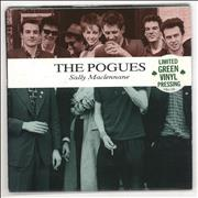 Click here for more info about 'The Pogues - Sally Maclennane - Green Vinyl + Poster'