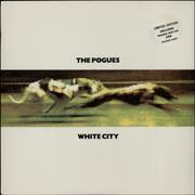 Click here for more info about 'The Pogues - White City + Stickers'