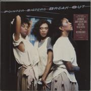 Click here for more info about 'The Pointer Sisters - Break Out - square hype sticker'