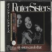 Click here for more info about 'The Pointer Sisters - Only Sisters Can Do That - Promo + Obi'