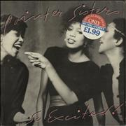Click here for more info about 'The Pointer Sisters - So Excited + Shrinkwrap'