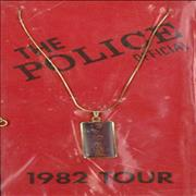 Click here for more info about 'The Police - 1982 Tour - Badge & Necklace Set'