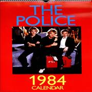 Click here for more info about 'The Police - 1984 Calendar'