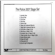 Click here for more info about 'The Police - 2007 Stage Set'