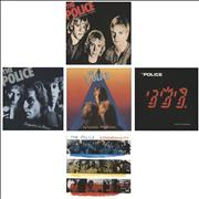 Click here for more info about 'The Police - 25th Anniversary Studio Albums'