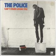 Click here for more info about 'The Police - Can't Stand Losing You - Green - P/S - EX'
