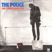 Click here for more info about 'The Police - Can't Stand Losing You - Light Blue - P/S'