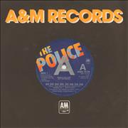 Click here for more info about 'The Police - De Do Do Do, De Da Da Da - A-Label'