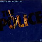 Click here for more info about 'The Police - Don't Stand So Close To Me - Poster Sleeve'