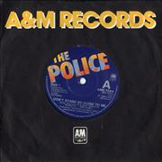 """The Police Don't Stand So Close To Me UK 7"""" vinyl"""