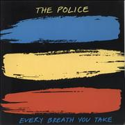 Click here for more info about 'The Police - Every Breath You Take - A Label'