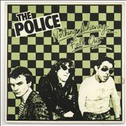 Click here for more info about 'The Police - Fall Out - Green & Black P/S'