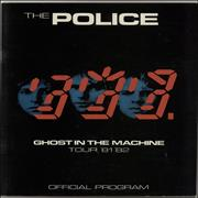Click here for more info about 'The Police - Ghost In the Machine Tour 81-82'