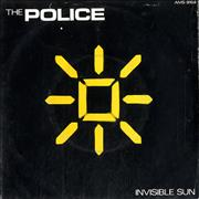 Click here for more info about 'The Police - Invisible Sun - P/S'