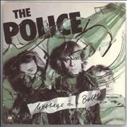 Click here for more info about 'The Police - Message In A Bottle - Green Vinyl + P/S - EX'