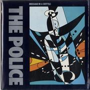 Click here for more info about 'The Police - Message In A Bottle - Poster Sleeve'