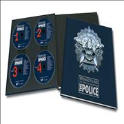 The Police Message In A Box UK 4-CD set