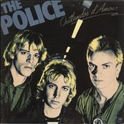 Click here for more info about 'The Police - Outlandos D'Amour - Blue A&M labels'