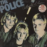 Click here for more info about 'The Police - Outlandos D'Amour - Blue Vinyl + Stickered Sleeve'