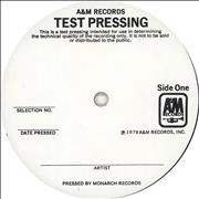 Click here for more info about 'The Police - Outlandos D'Amour - Test Pressing'