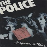 Click here for more info about 'The Police - Regatta De Tour + Ticket Stub'