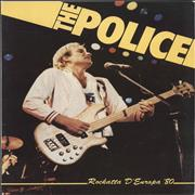 Click here for more info about 'The Police - Rockatta D'europa '80 + Ticket Stub'