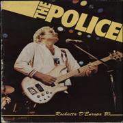 Click here for more info about 'The Police - Rockatta D'europa '80 - VG'