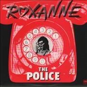 Click here for more info about 'The Police - Roxanne - Blue Vinyl'